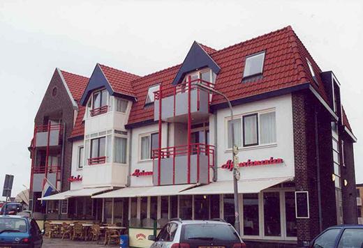 hotel Architektenburo Admiraal Stoute