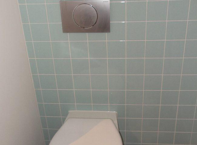 Tegelwerk toilet villa Admiraal-Stoute