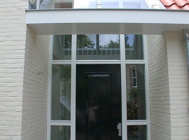 voordeur verbouw bestaande bungalow Architektenburo Admiraal Stoute