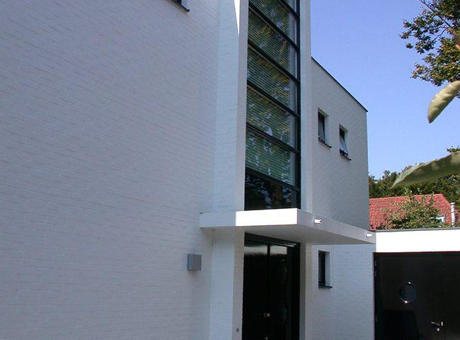 voordeur Kubistisch ontwerp van Architektenburo Admiraal Stoute