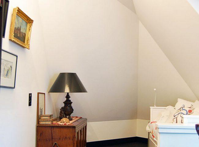 Slaapkamer verbouw vrijstaande villa Bergen Admiraal Stoute