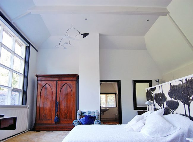 Slaapkamer verbouw vrijstaande villa Bergen Admiraal-Stoute