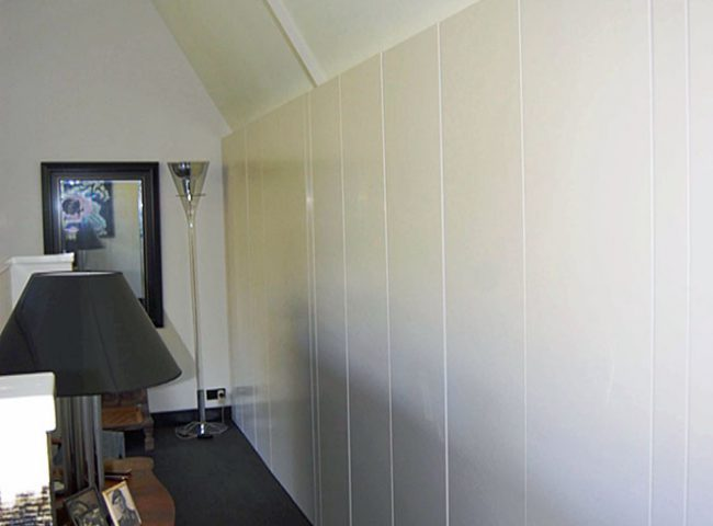Maatwerk kastenwand verbouw vrijstaande villa Bergen Admiraal-Stoute