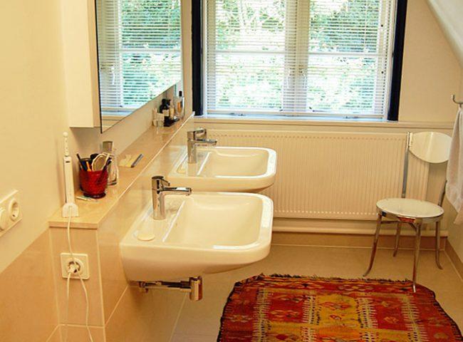 Inrichting badkamer verbouw vrijstaande villa Bergen Admiraal-Stoute