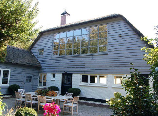 Renoveren atelierraam verbouw vrijstaande villa Bergen Admiraal-Stoute