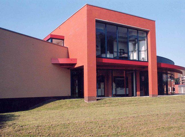 Toonzaal Baderie, Architektenburo Admiraal-Stoute
