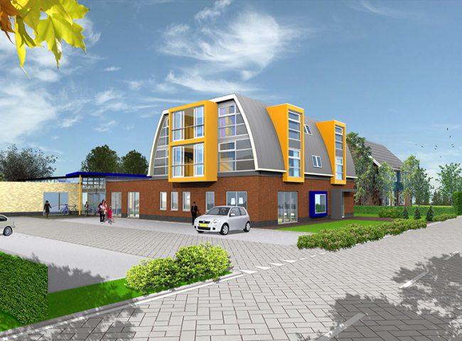 Appartementen, voorzien van speciale toevoegingen voor de zorg Architektenburo Admiraal Stoute