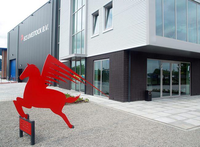 bedrijfshal ECS Livestock bv Architektenburo Admiraal Stoute