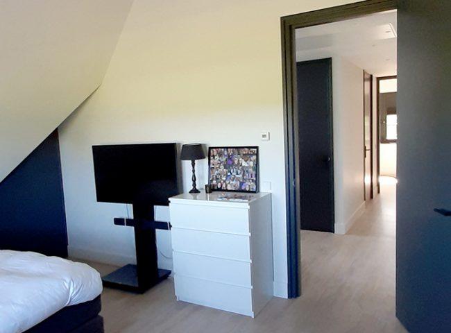 slaapkamer nieuwbouw wit vrijstaand huis heiloo
